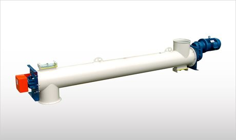 Heavy-Duty Tubular Screw Conveyors - TP-TE
